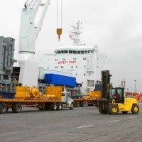 Loading of Cargo at Port