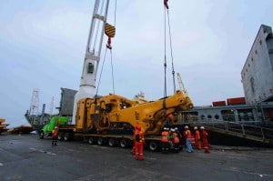 Heavy Lift Cargo loading