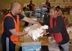 Noatum Logistics Workers Repackaging