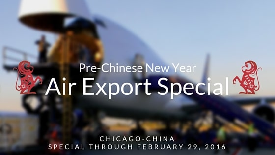 Pre Chinese New Year Special