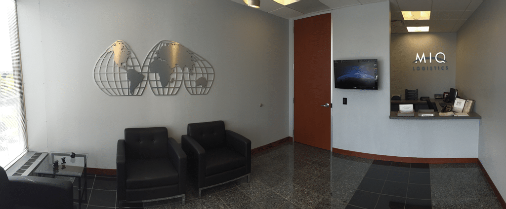 Noatum Logistics International Lobby In Overland Park Kansas