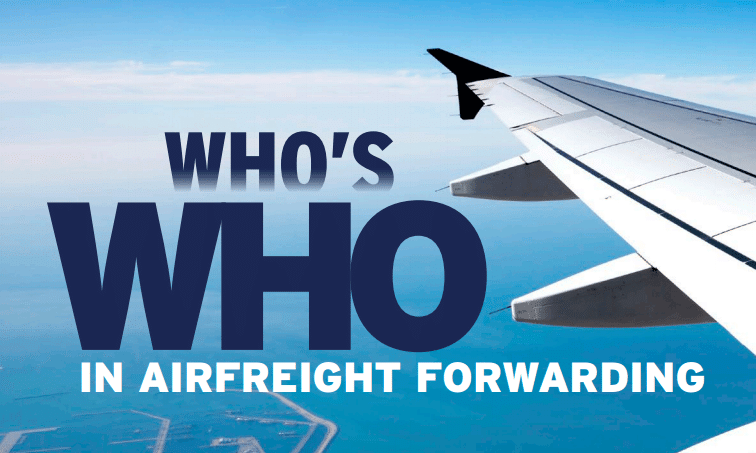 Who's Who Airfreight Forwarding Award