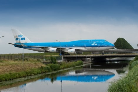 MIQ Global Logistics Amsterdam Plane
