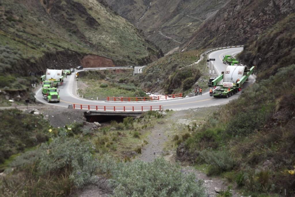 road near lima peru