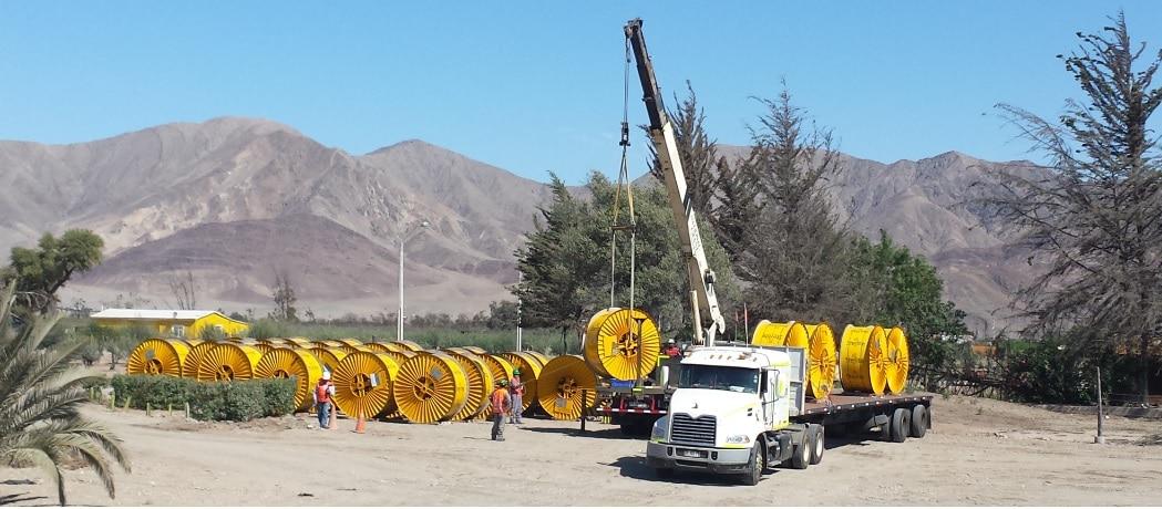 Project Logistics Santiago Chile